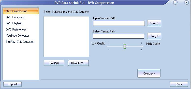 DVD Data Shrink