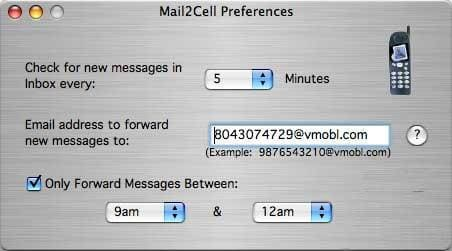 Mail2Cell
