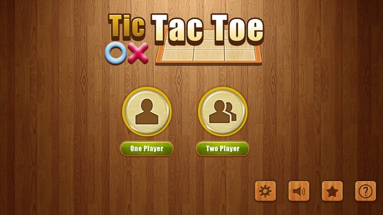 Tic Tac Toe* for Windows 10
