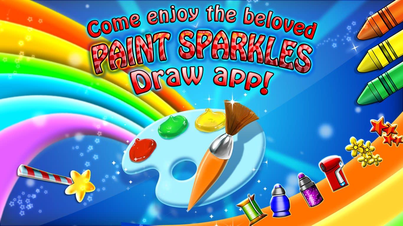 Paint Sparkles Draw