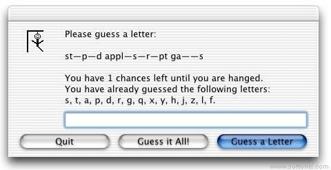 Stupid AppleScript Games