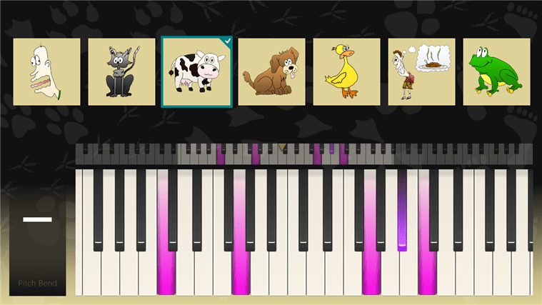 Biological Piano pour Windows 10
