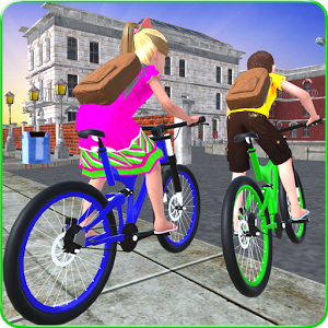 Kids School Time Bicycle Race 1.0