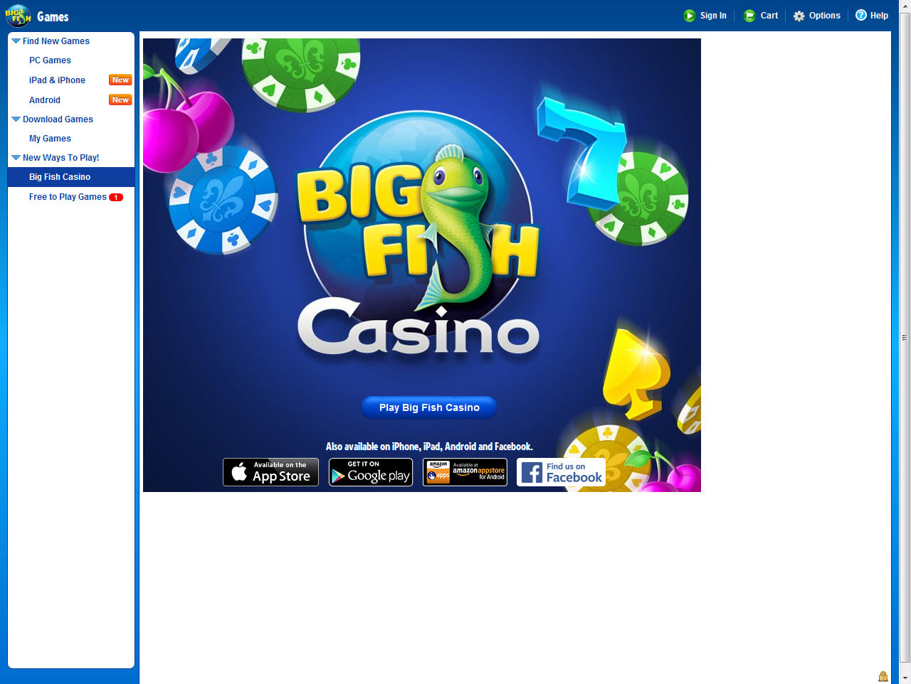 Big fish game manager download for Fish and game