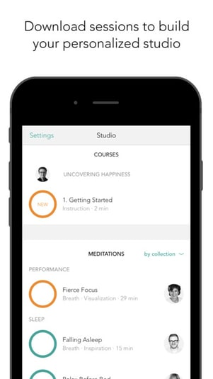 Meditation Studio – Guided meditations and Courses
