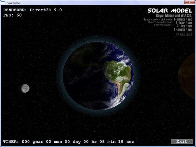 Solar Model 3D