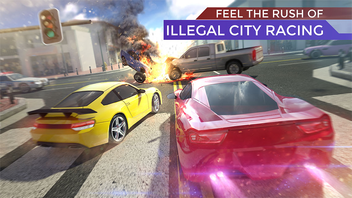 Traffic: Illegal Road Racing - Asphalt Street Cars