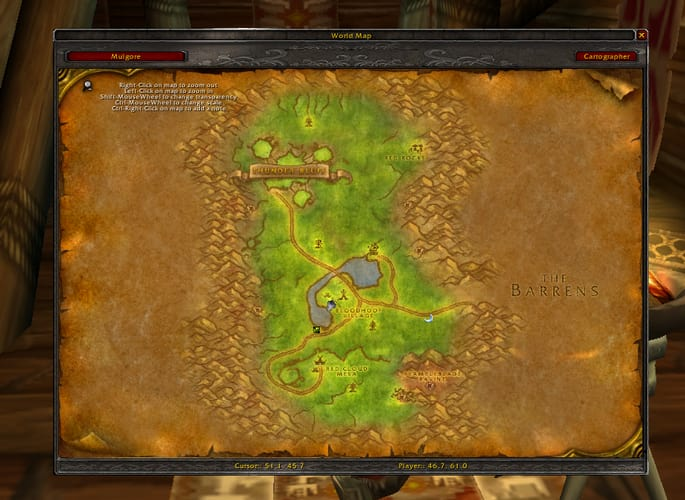 World of Warcraft Cartographer Add-on