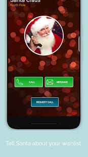 A Call From Santa Claus!