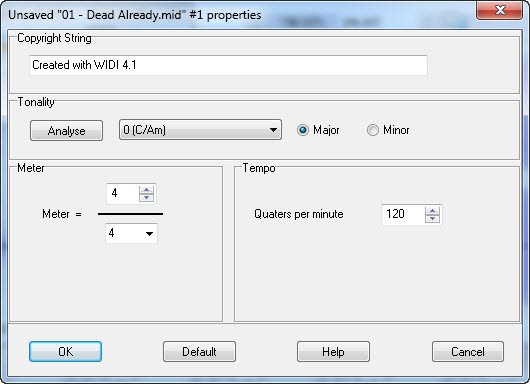 WIDI Recognition System