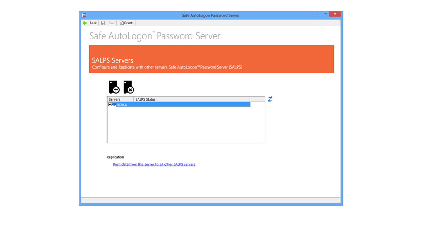 Safe AutoLogon Password Server