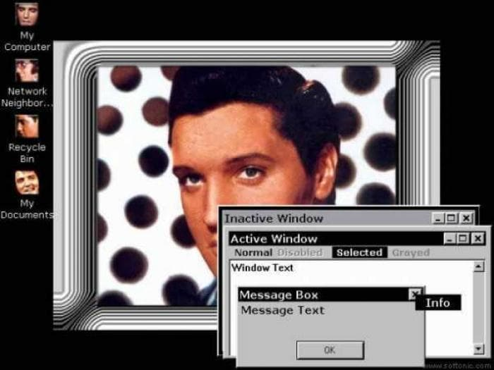 Elvis Desktop Theme