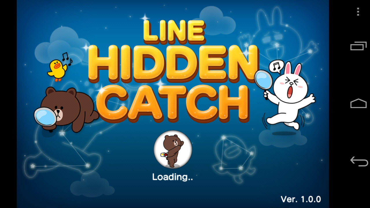 line hidden catch for android download