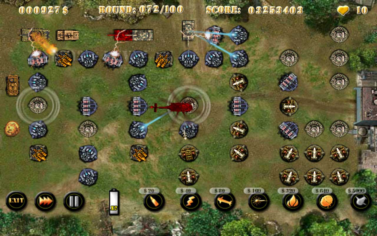 Commando Tower Defense