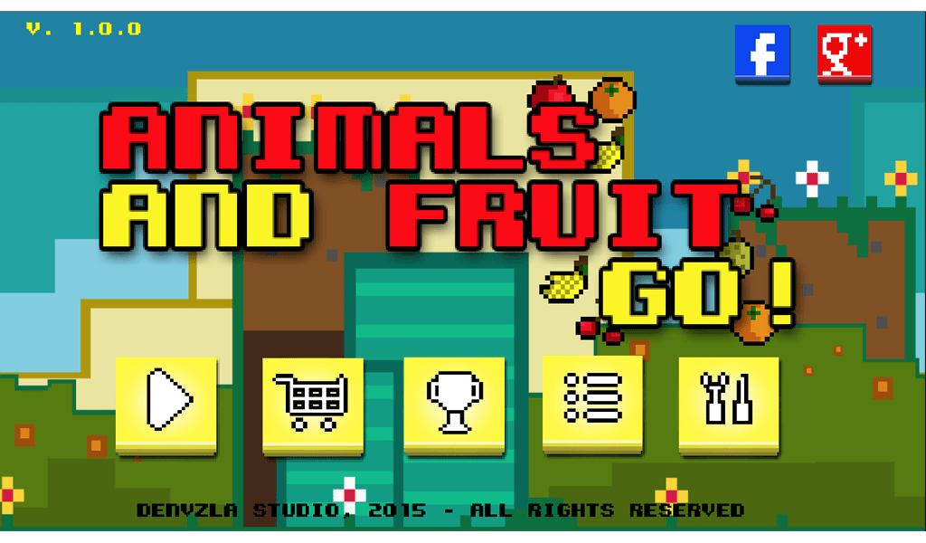 Animals And Fruit Go