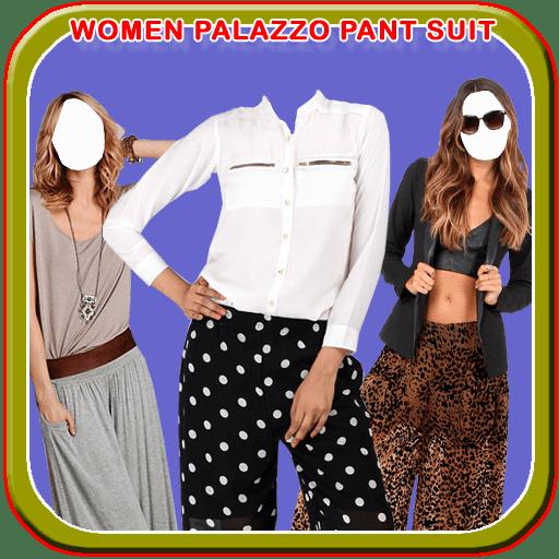 Women Palazzo Pant Suit