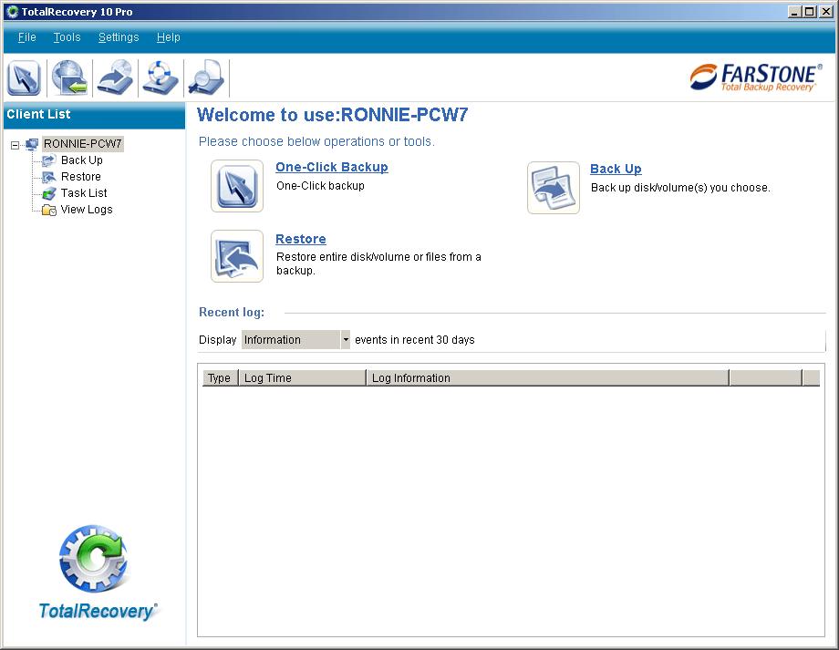 FarStone TotalRecovery Pro