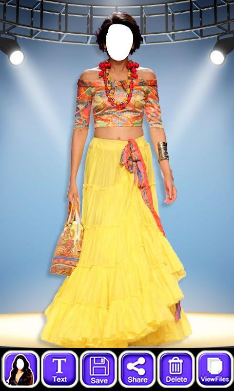 Women Fashion Show Dress Suit