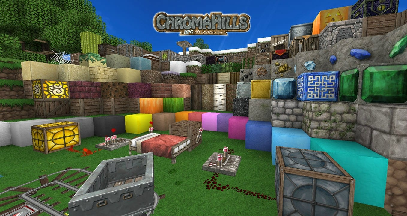 Chroma Hills for Minecraft