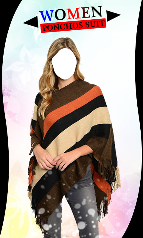 Women Ponchos Suit