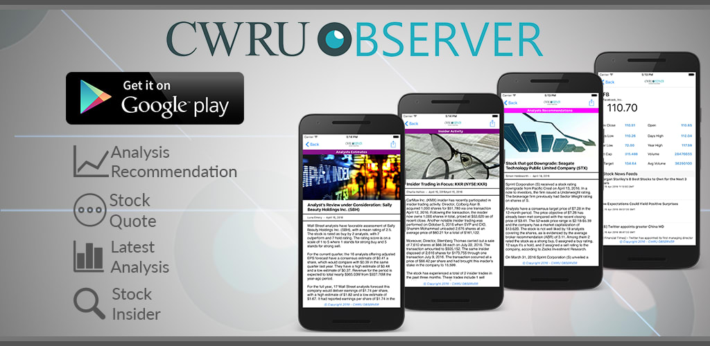 CWRU Observer (Financial News)
