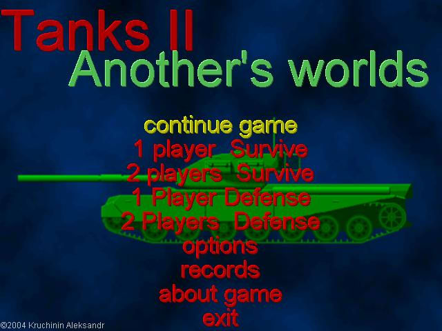 Tanks II: Another's worlds