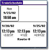 TrainSchedule Lite