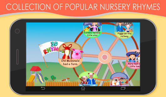 3D Nursery Rhymes for Kids