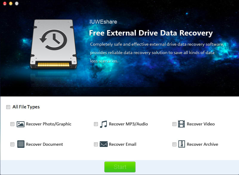 Mac External Drive Data Recovery