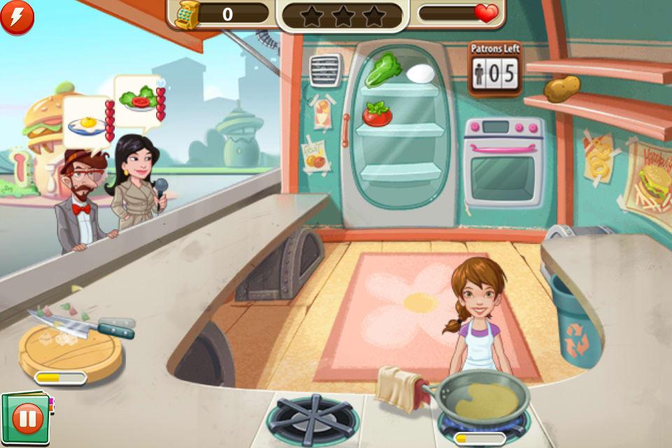 Juegos De Cocinar En Restaurantes   Kitchen Scramble Para Iphone Descargar