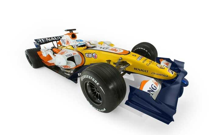 ING Renault F1 Team 2008