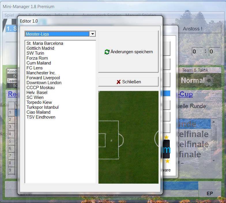 Mini-Manager DER Fußball-Manager