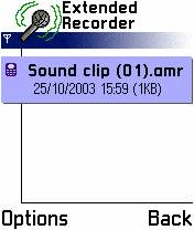 Extended Recorder