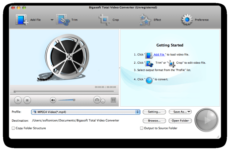 Bigasoft Total Video Converter for Mac 3.7.15.4643