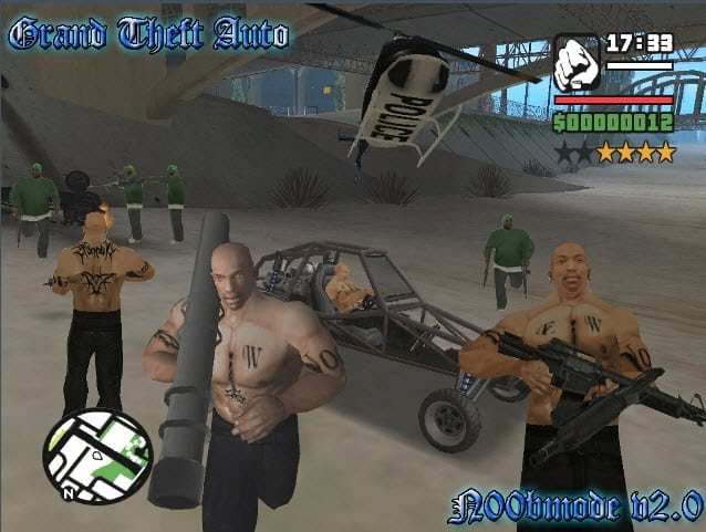 San Andreas Mods For Mac