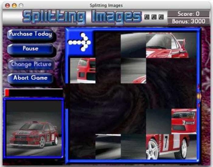Splitting Images