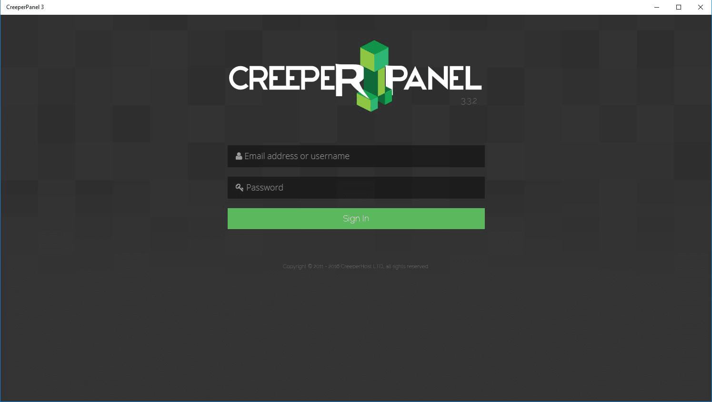 CreeperPanel 3