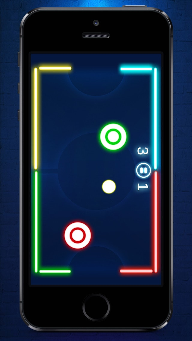 Air Hockey NEON - ice hockey game