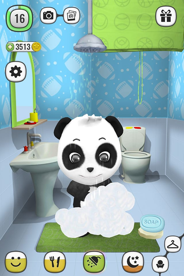 ! My Talking Panda MO - Virtual Pet