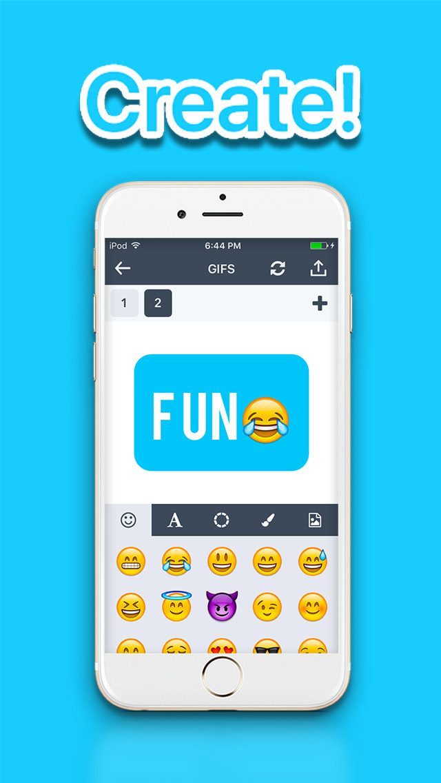 Gif Studio - create awesome gifs from videos or pic