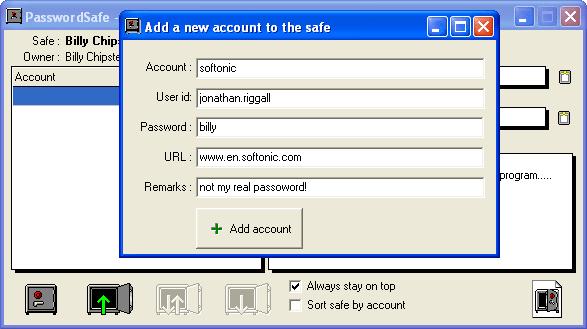 PasswordSafe