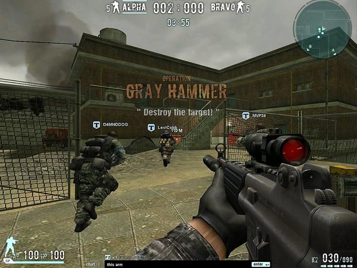 COMBAT ARMS - Envolve ação e perigo