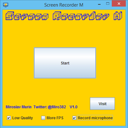 M Screen Recorder