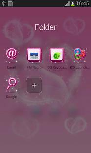 Temas rosadas Android gratis