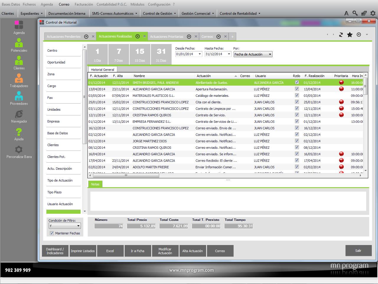 MNprogram Software Servicios de Limpieza