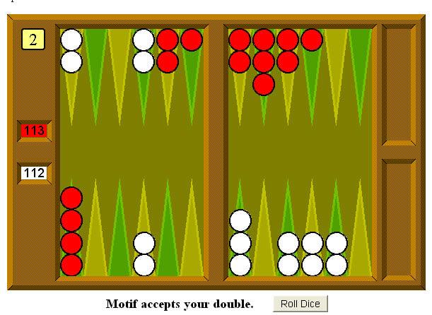 Motif Backgammon