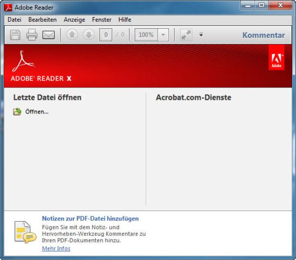 Adobe Reader X Lite