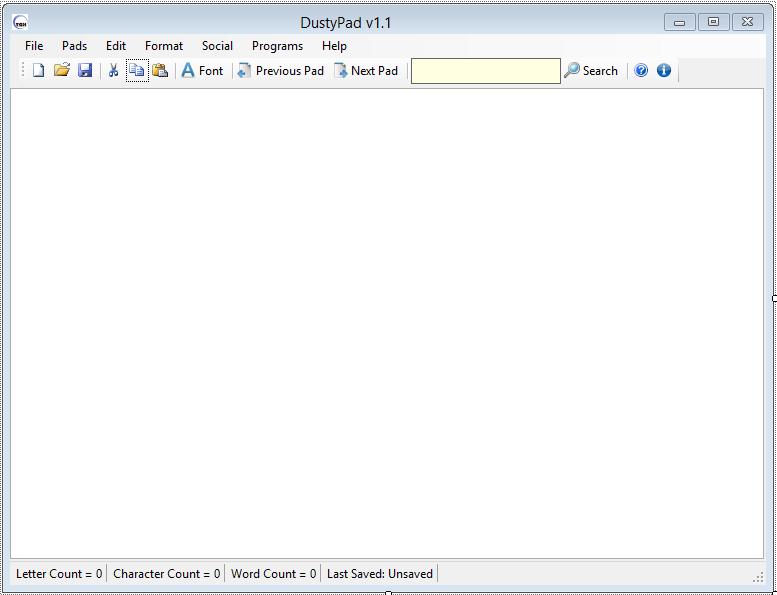 DustyPad