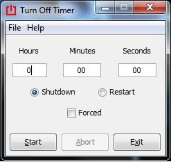 Turn Off Timer