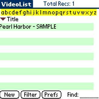 VideoList